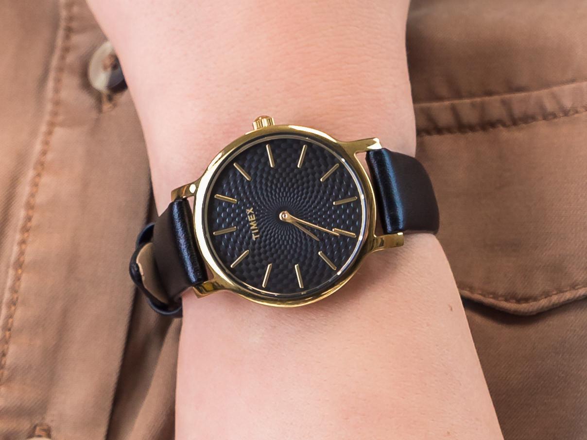 zegarek timex metropolitan czarna tarcza bransoleta