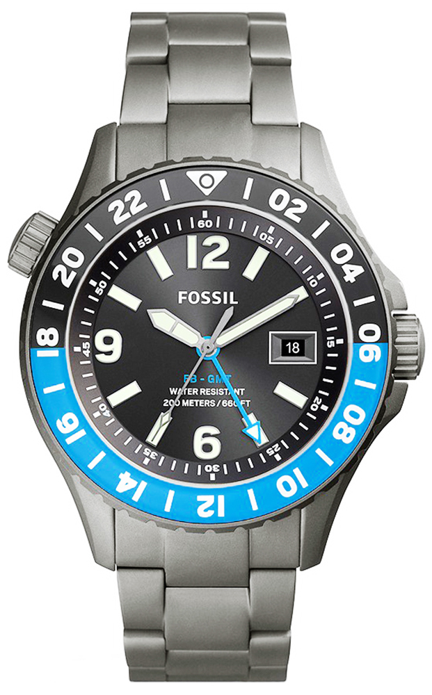 Fossil LE1100 FB-GMT FB-GMT Dual Time Limited Edition