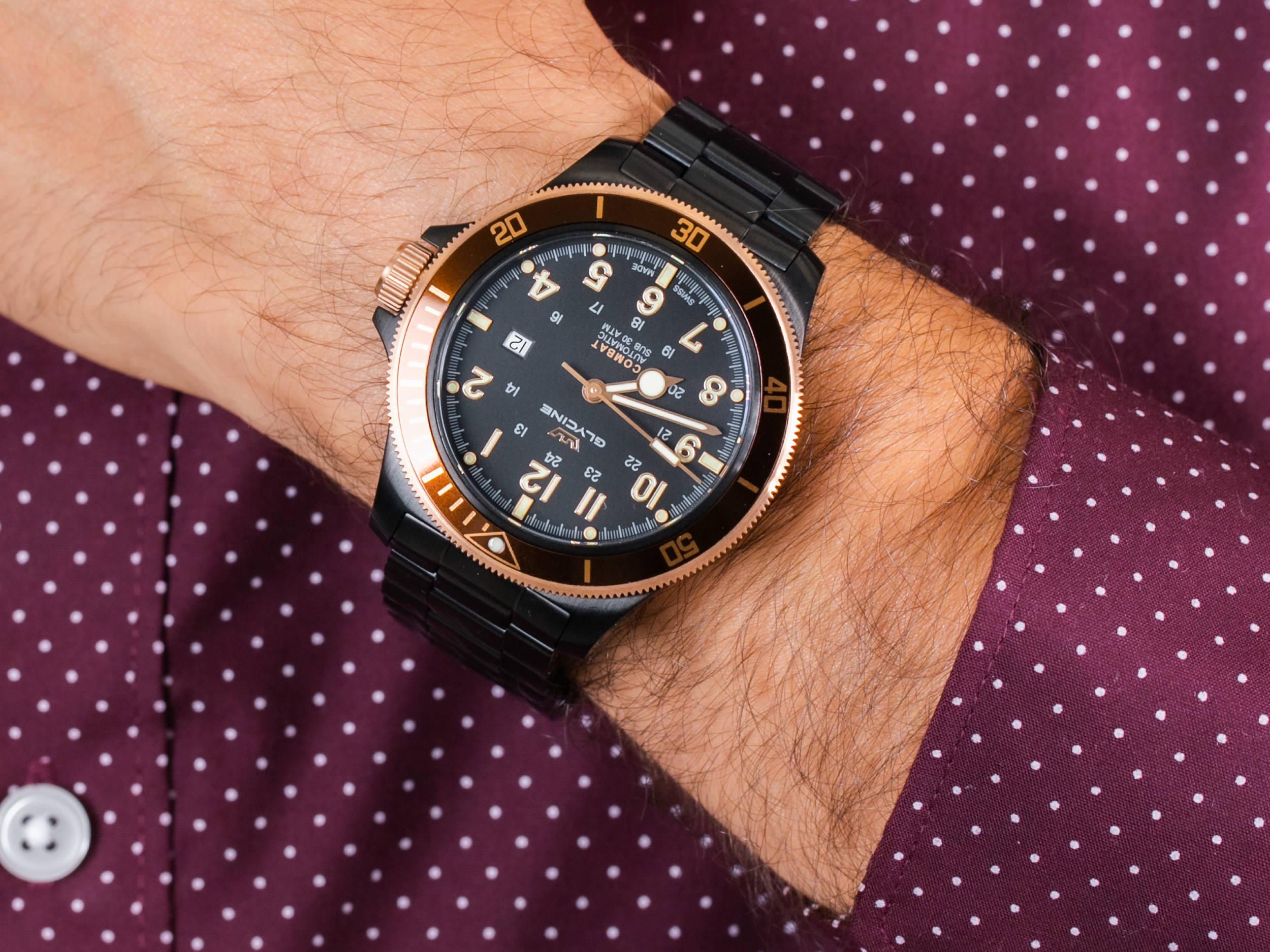 Zegarki Glycine z brązu dla osób ceniących sobie bogatą historię