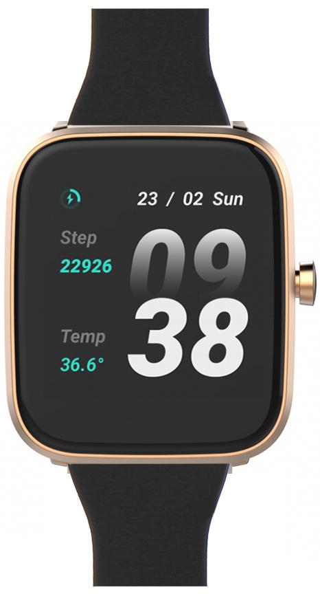 Vector Smart VCTR-31-01RG-03BK Smartwatch