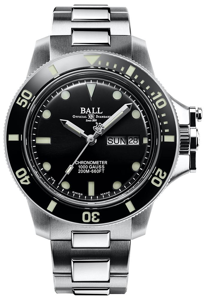 Ball DM2118B-SCJ-BK Engineer Hydrocarbon Ball Engineer Hydrocarbon Original Automatic Chronometer