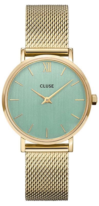 Cluse CW0101203030 Minuit Gold Stone Green