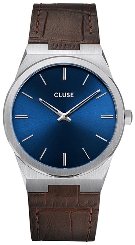 Cluse CW0101503001 Vigoureux Silver Dark Brown Croco