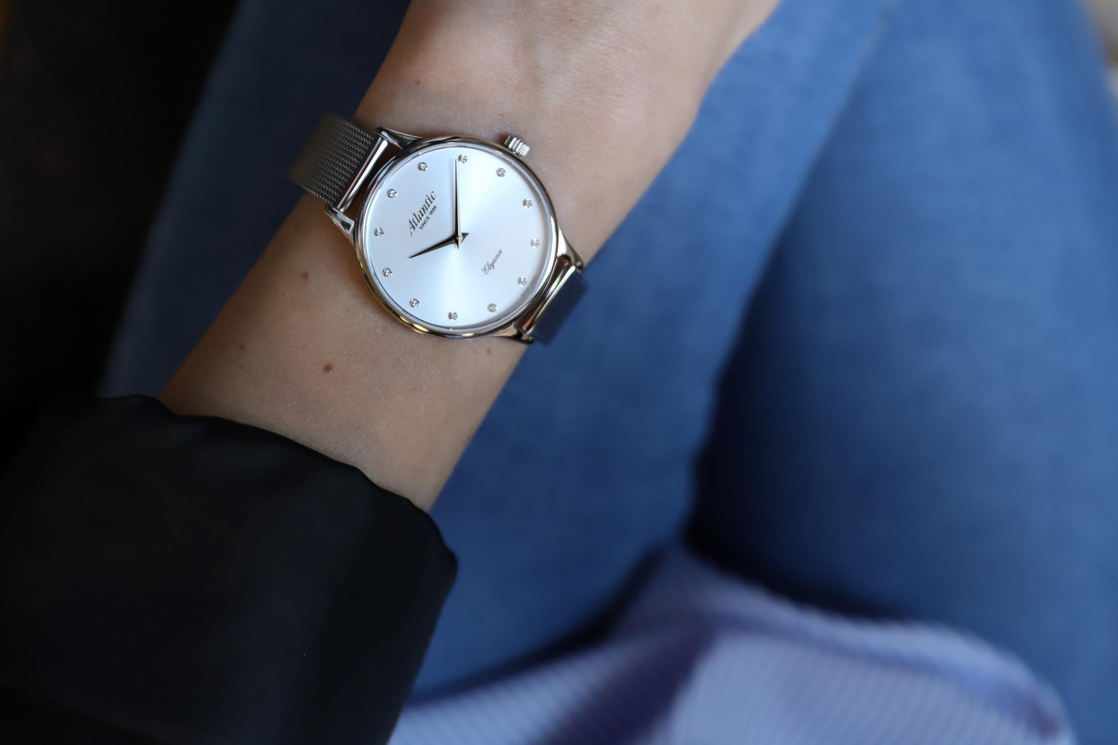 atlantic zegarek elegancki damski