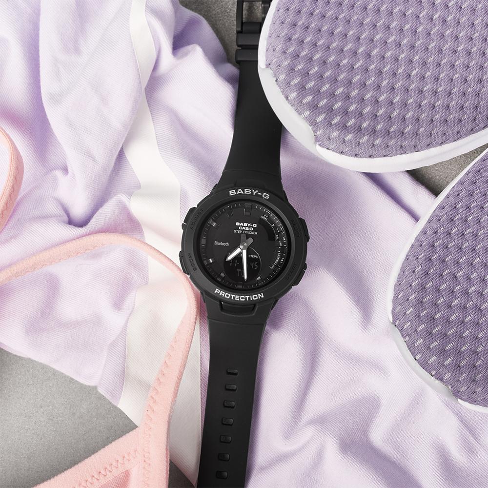 Zegarek Baby-G w czarnym kolorze