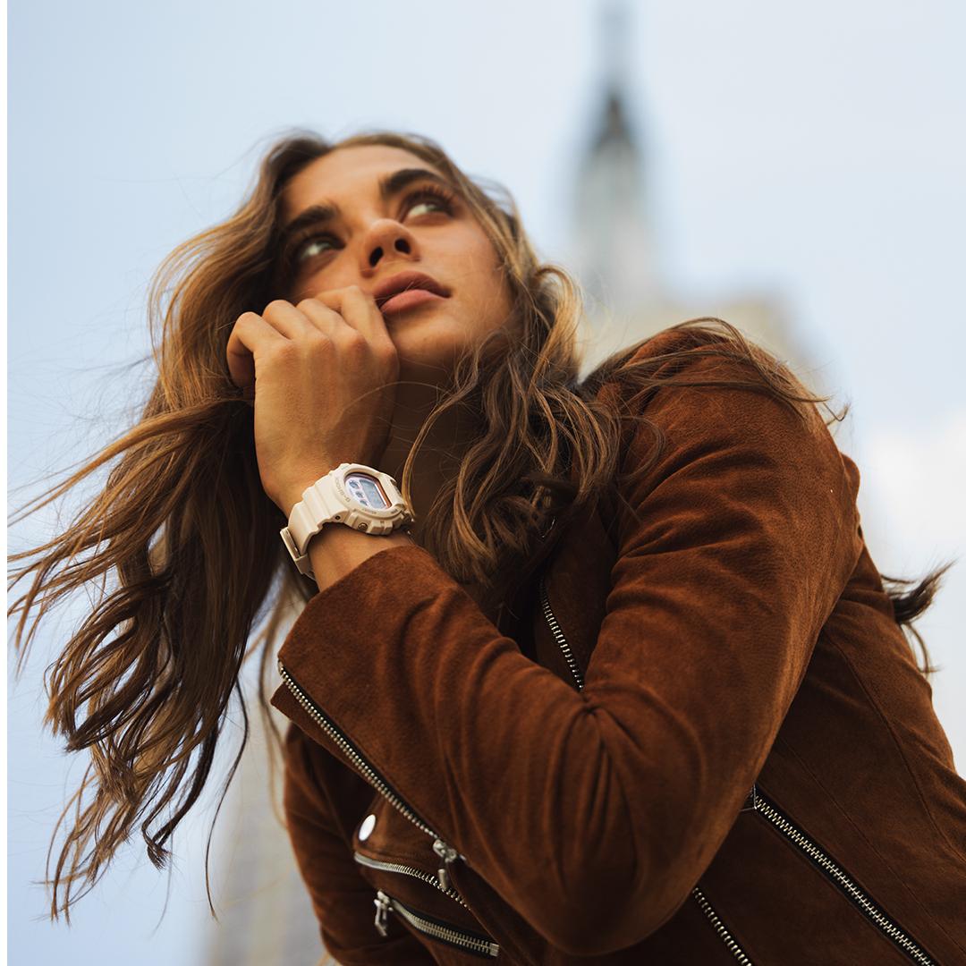 Unikalny zegarek G-Shock GMD-S6900MC-4ER S-series idealny dla osób lubiących aktywność fizyczną.