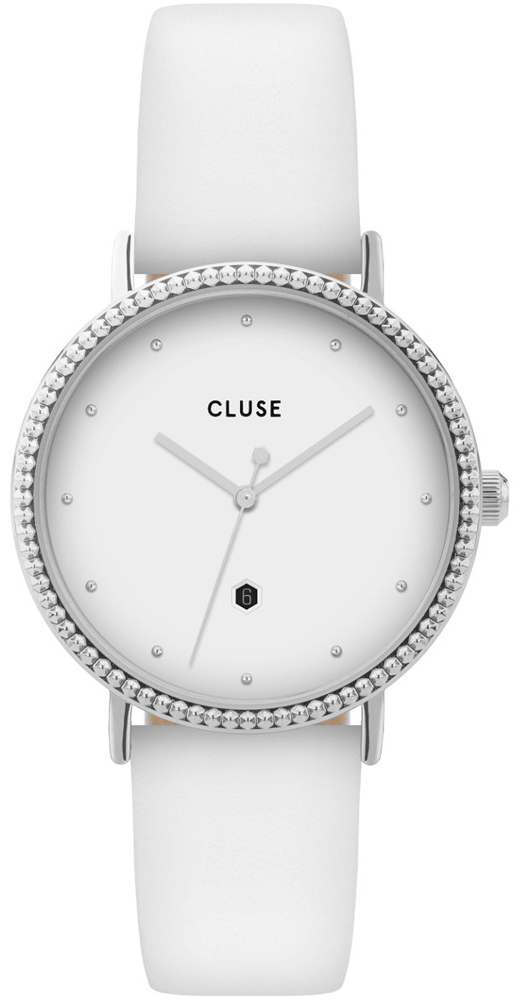 Cluse CL63003 Le Couronnement Silver White/White
