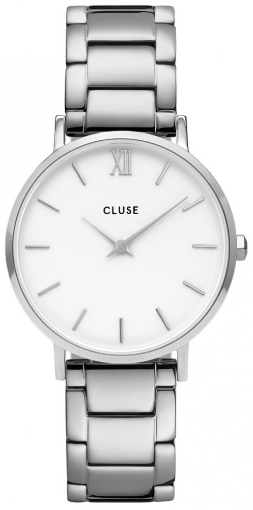 Cluse CW0101203026 Minuit Silver White