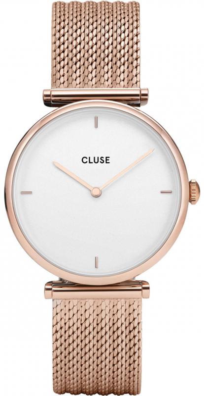 Cluse CG0108208001 Triomphe Rose Gold/ White  Star Bracelet Gift Box