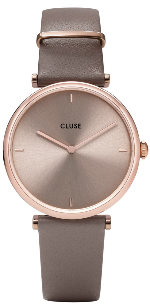 Cluse CW0101208010 Triomphe Triomphe Leather Rose Gold Soft Taupe/Soft Taupe
