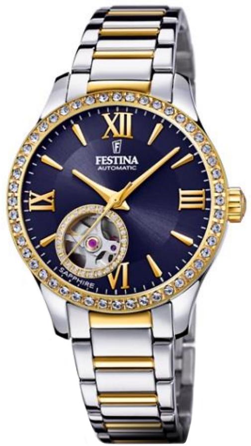 Festina F20486-2 Classic Open Heart Automatic