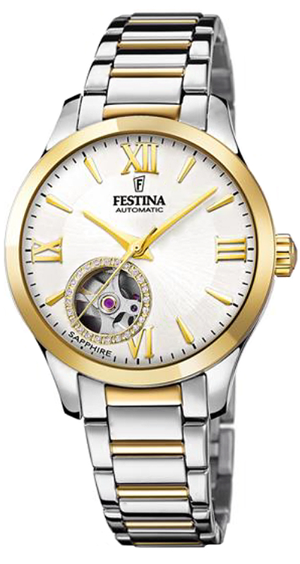 Festina F20489-1 Classic Open Heart Automatic