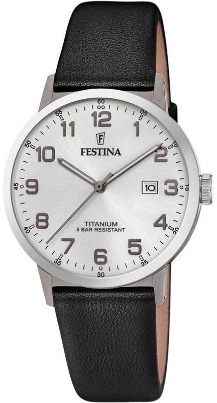 Festina F20471-1 Titanium Titanium Date