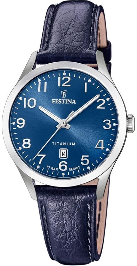 Festina F20469-2 Titanium Titanium Date