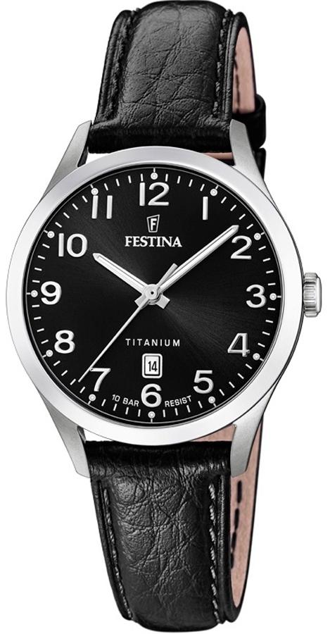 Festina F20469-3 Titanium Titanium Date