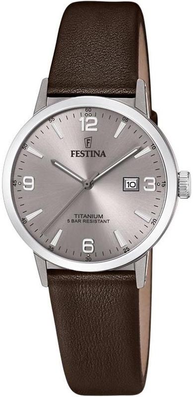 Festina F20472-2 Titanium Titanium Date