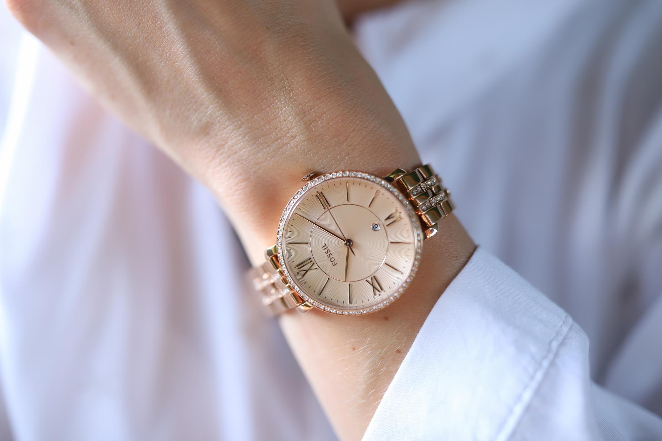 zegarek fossil na reku