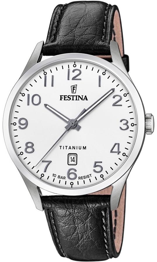 Festina F20467-1 Titanium Titanium Date