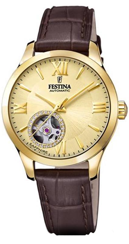 Festina F20491-1 Classic Open Heart Automatic
