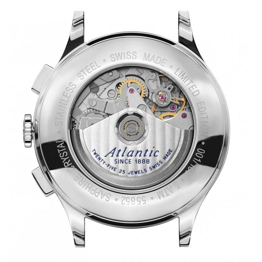 Zegarki Atlantic Worldmaster Valjoux — specyfikacja techniczna