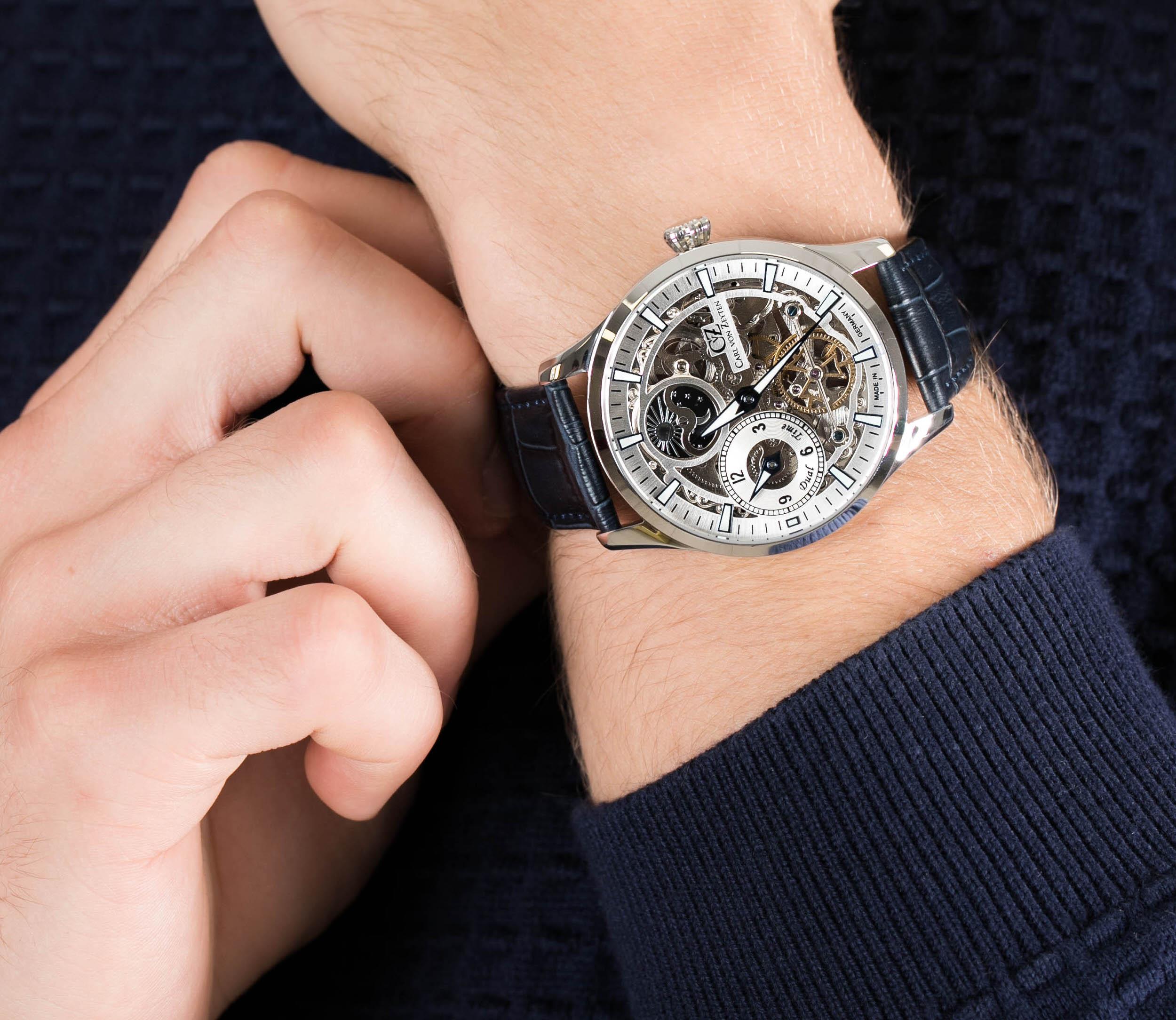 Zegarki Carl von Zeyten – niemiecka solidność