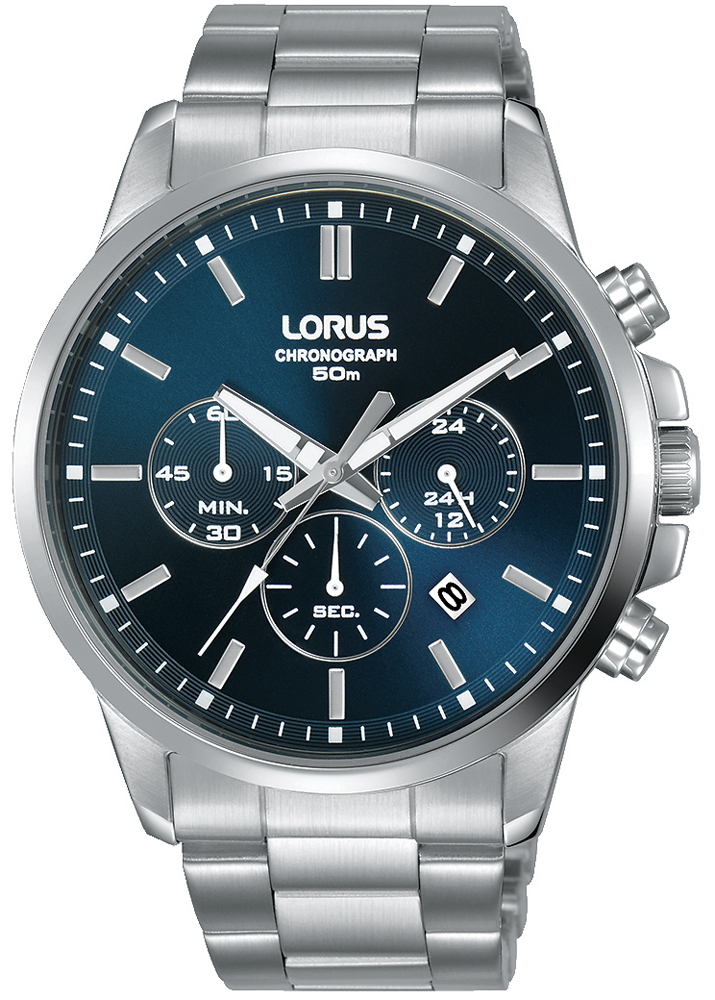 Zegarek męski Lorus RM311GX9 na stalowej bransolecie