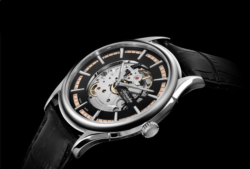 Elegancki zegarek Adriatica Automatic na skórznym pasku