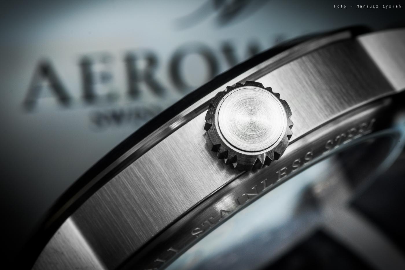 Detale limitowanego zegarka Aerowatch.