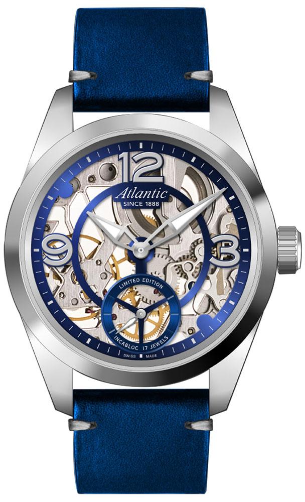 Atlantic 70950.41.59S Seaflight Skeleton Mechanical Limited Edition