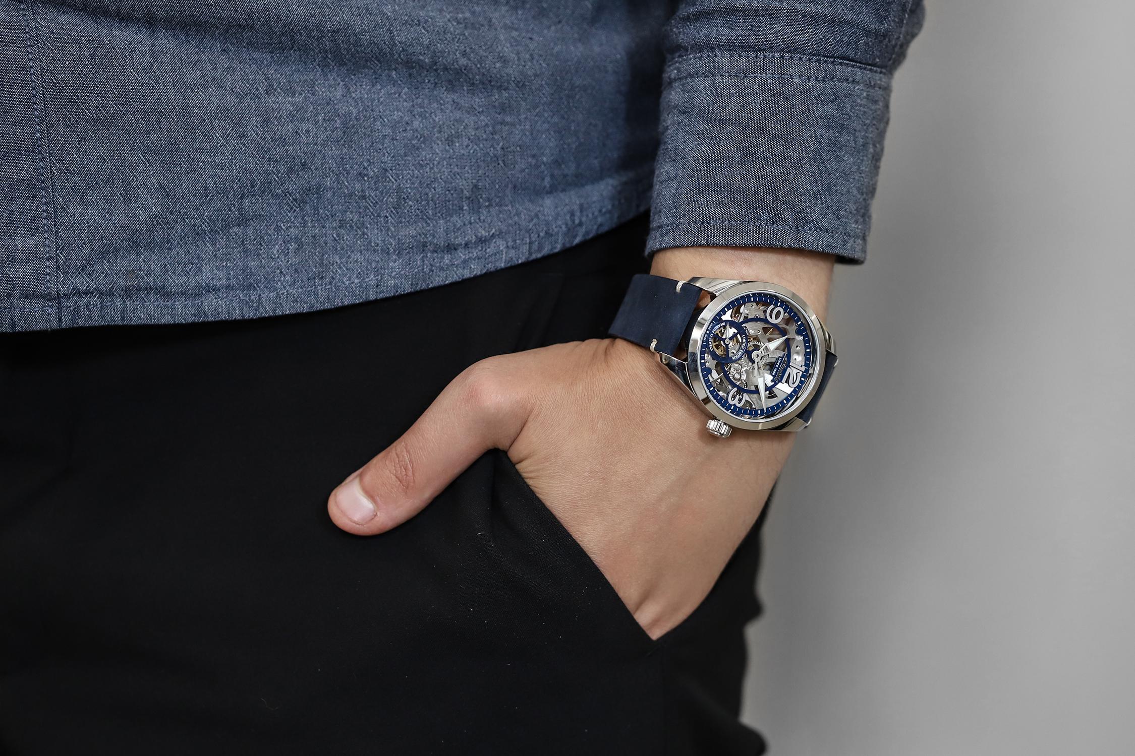 Zegarek Atlantic Sealight jako przykład sztuki zegarmistrzowskiej.