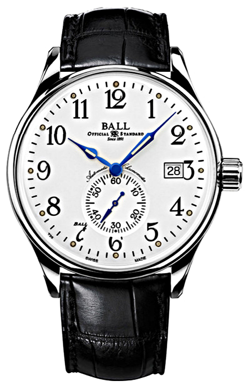 Ball NM3888D-LL1CJ-WH Trainmaster Trainmaster Standard Time Automatic Chronometer