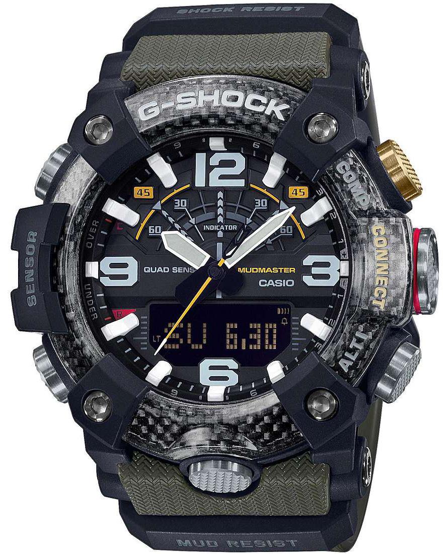 G-Shock GG-B100-1A3ER G-SHOCK Master of G Mudmaster Carbon Core