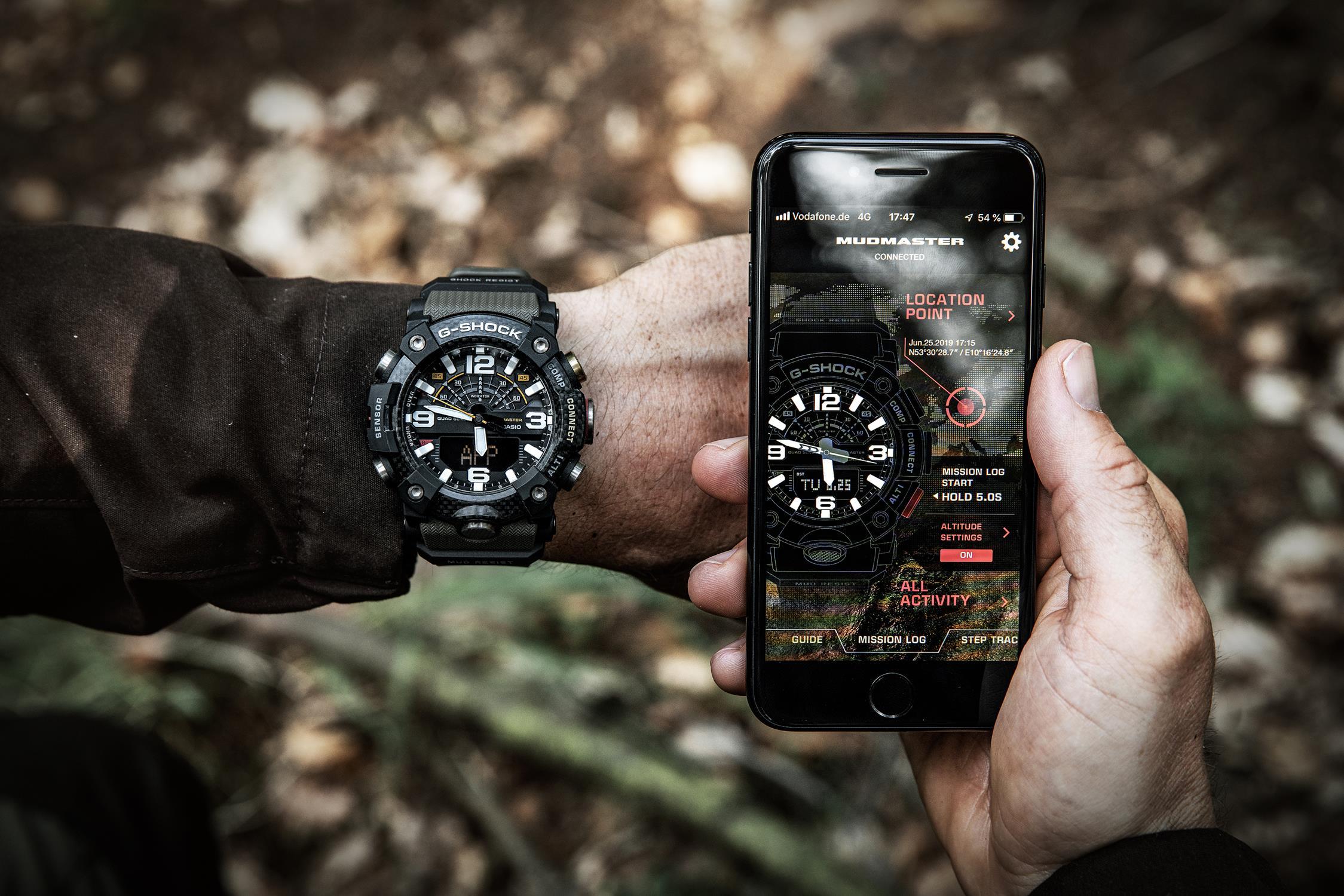 Niepowtarzalny zegarek G-Shock Mudmaster GG-B100-1A3ER