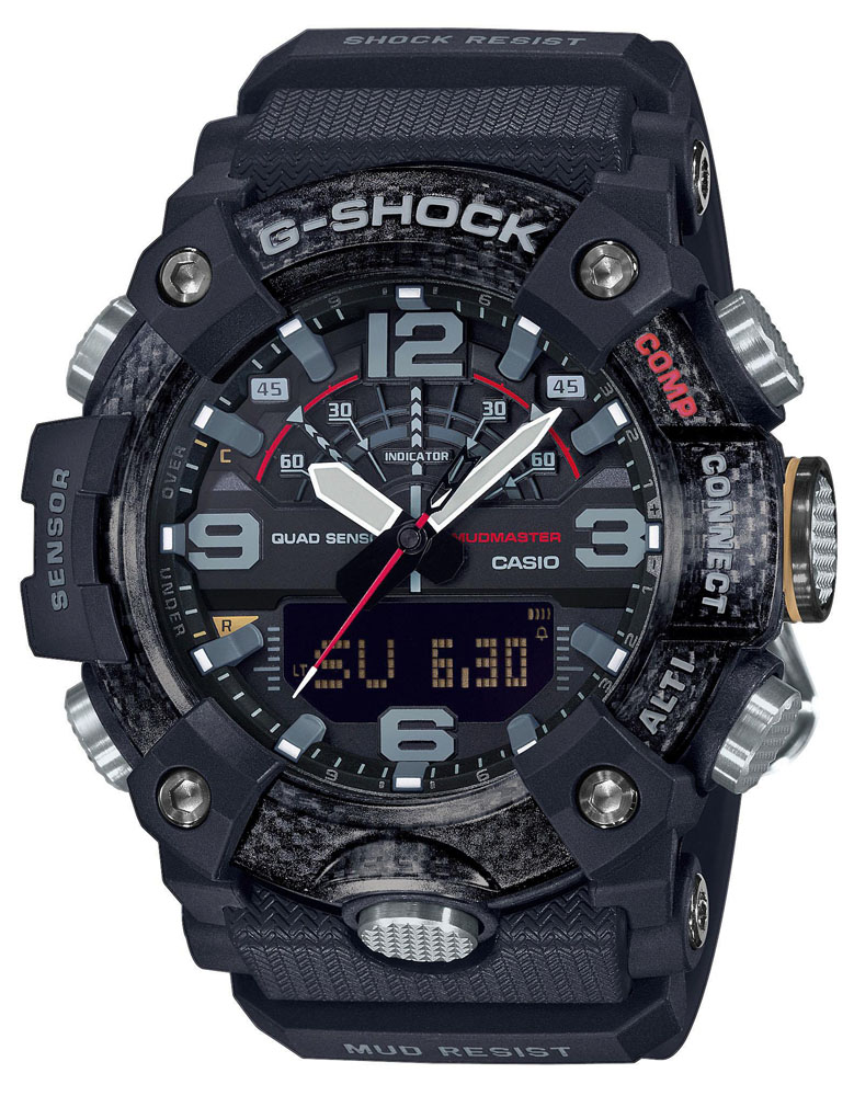 G-Shock GG-B100-1AER G-SHOCK Master of G Mudmaster Carbon Core