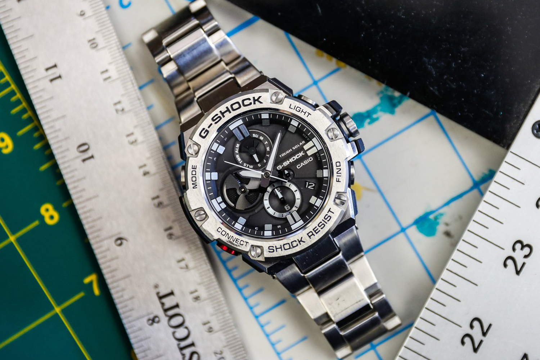 661ca1d0b5818f Casio GST-B100D-1AER G-STEEL BLUETOOTH SYNC zegarek męski - Sklep ...