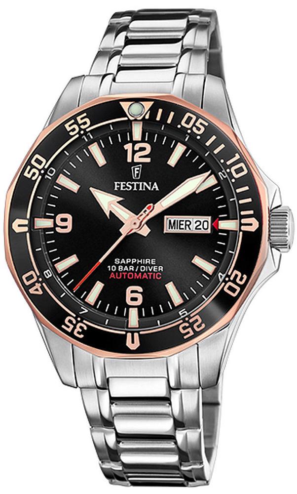 Festina F20478-6 Sport Diver Sapphire Automatic