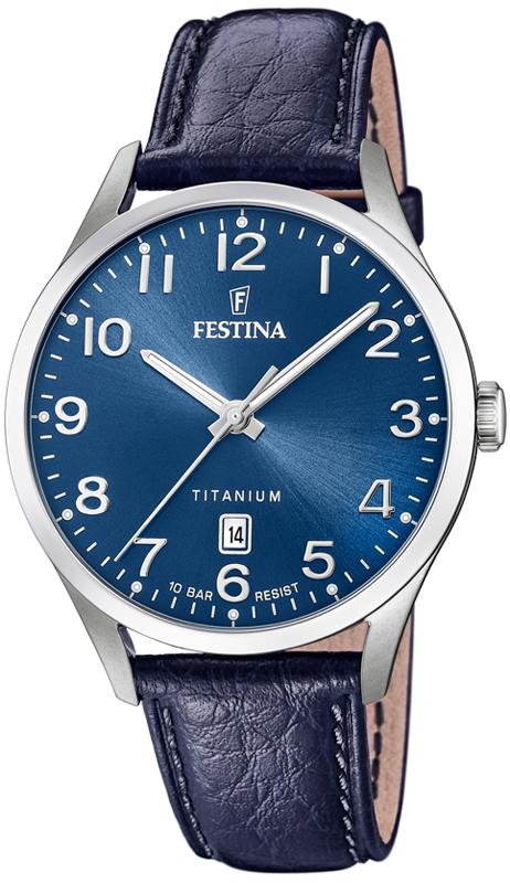 Festina F20467-2 Titanium Titanium Date
