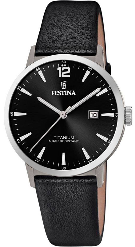 Festina F20471-3 Titanium Titanium Date