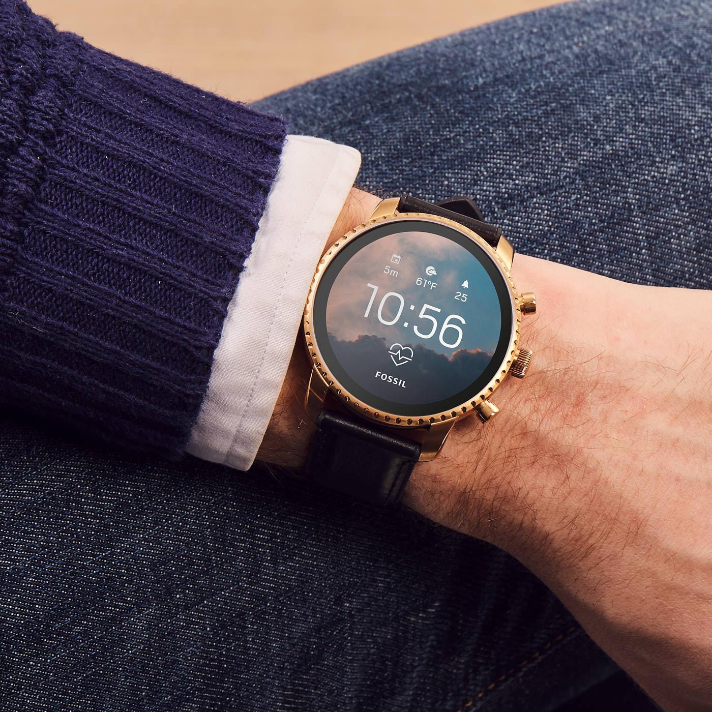 Smartwatch 4 generacji Fossil Q.