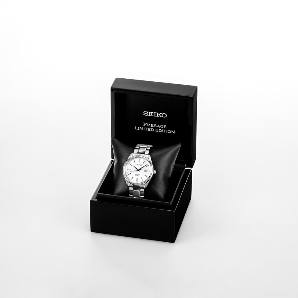 Piękny, męski zegarek Seiko Presage z limitowanej edycji.