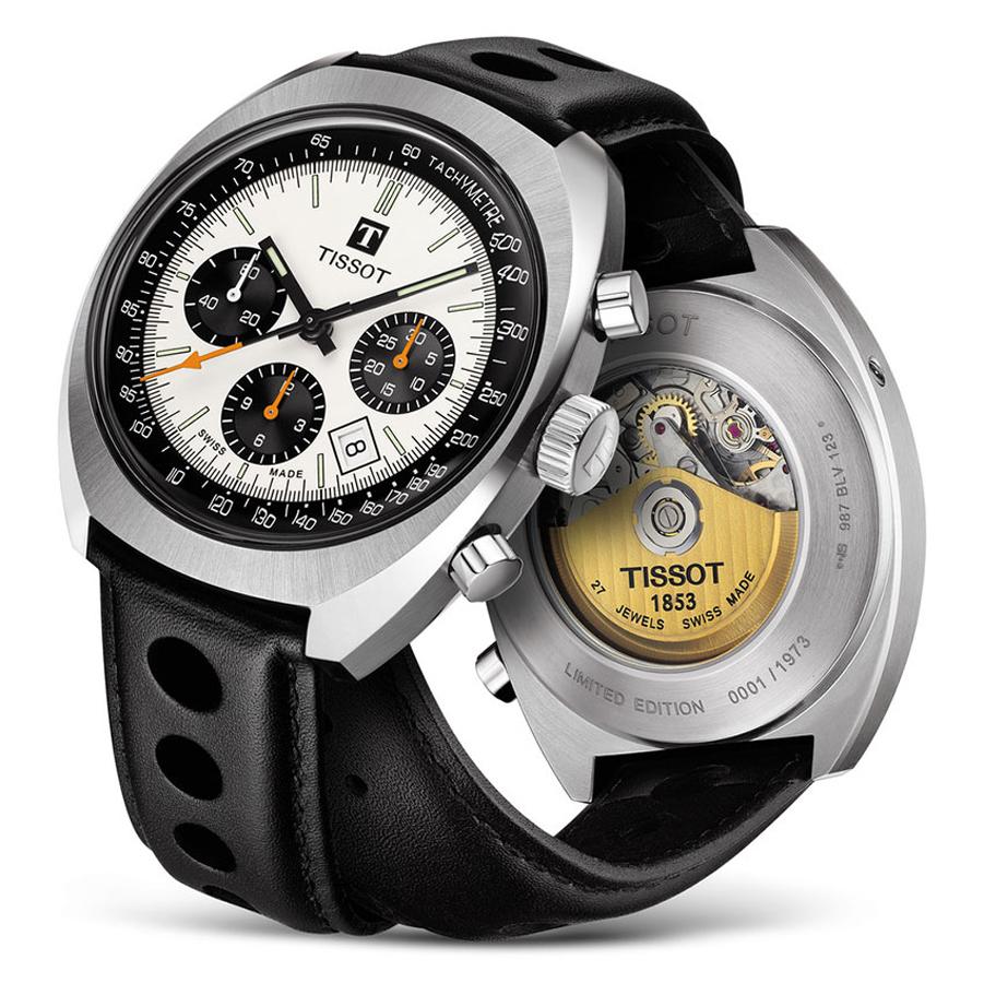 Tissot Heritage 1973 to szwajcarski zegarek z automatycznym mechanizmem ETA.