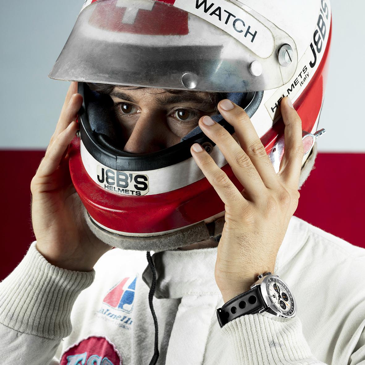 Loris Kessel jako prawdziwy pasjonat motoryzacji.