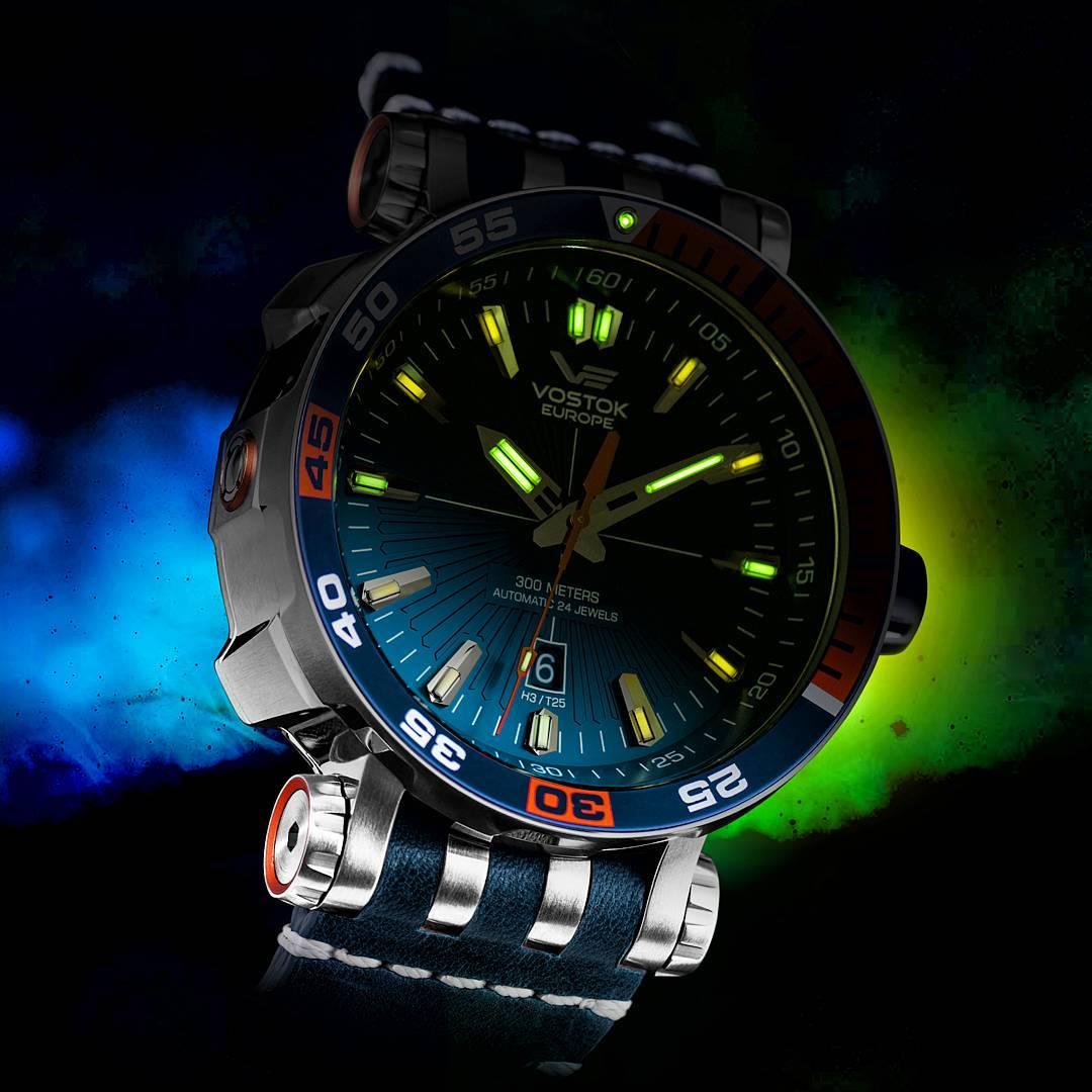 Energetyczny zegarek Vostok Europe czyli Energia Rocket NH35A-575A279