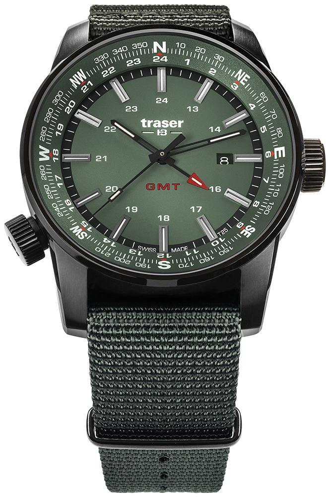 Traser TS-109035 P68 Pathfinder GMT P68 Pathfinder GMT Green
