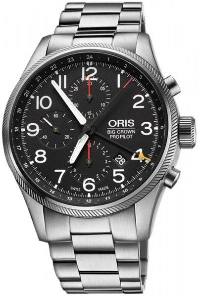 Oris 01 677 7699 4164-07 8 22 19 Big Crown ProPilot ORIS BIG CROWN PROPILOT CHRONOGRAPH GMT