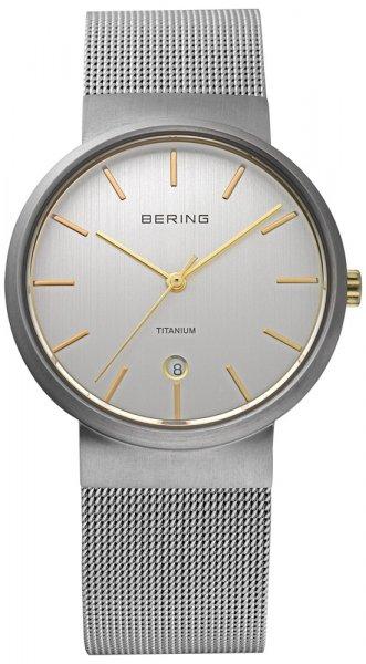 Zegarek damski Bering classic 11036-004 - duże 1