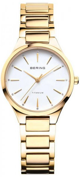 Zegarek damski Bering titanium 15630-734 - duże 1
