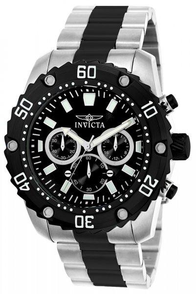 Zegarek męski Invicta pro diver 22521 - duże 1