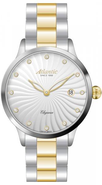 Zegarek damski Atlantic elegance 29142.43.27GMB - duże 1