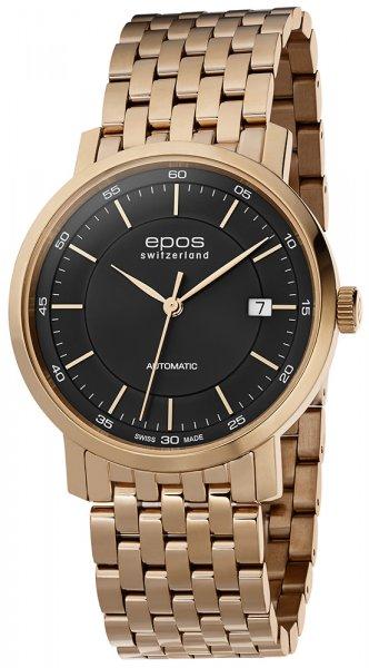 Zegarek męski Epos originale 3387.152.24.15.34 - duże 1